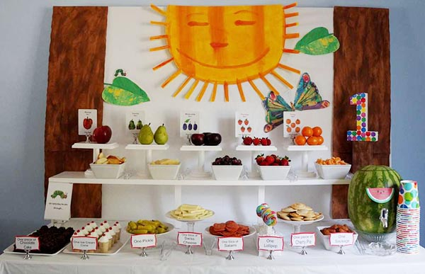 Very Hungry Caterpillar Party! & Very Hungry Caterpillar Party! Ideas - B. Lovely Events