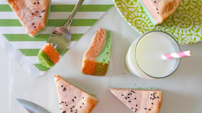 Yum! Watermelon blonde bars!