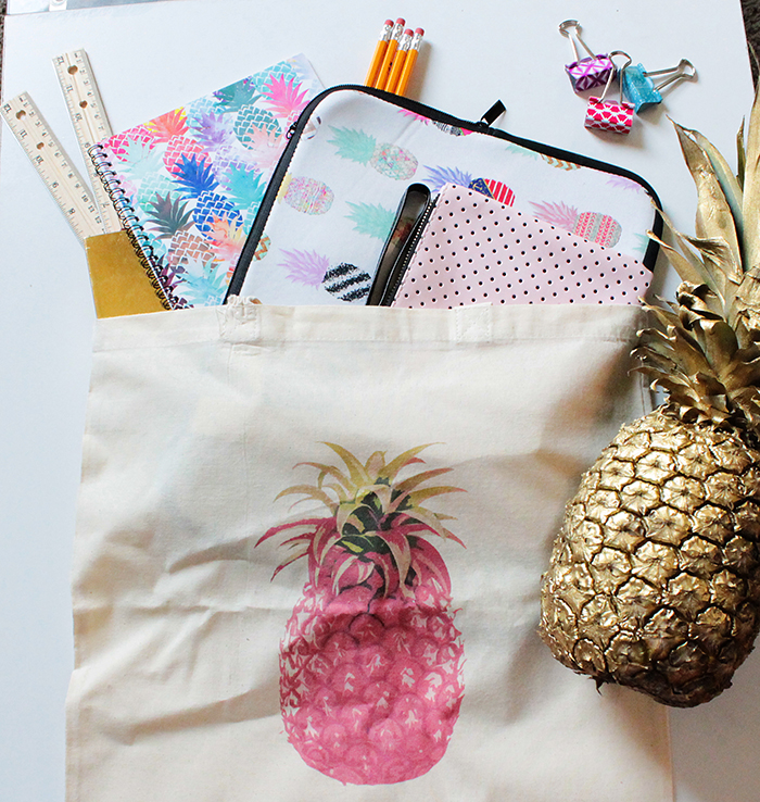 Zazzle Pineapple Back To School Supplies