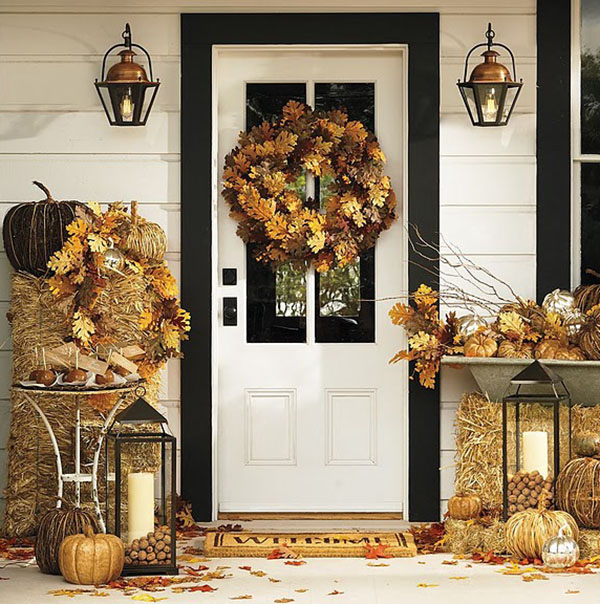 Beautiful Porch for Fall!