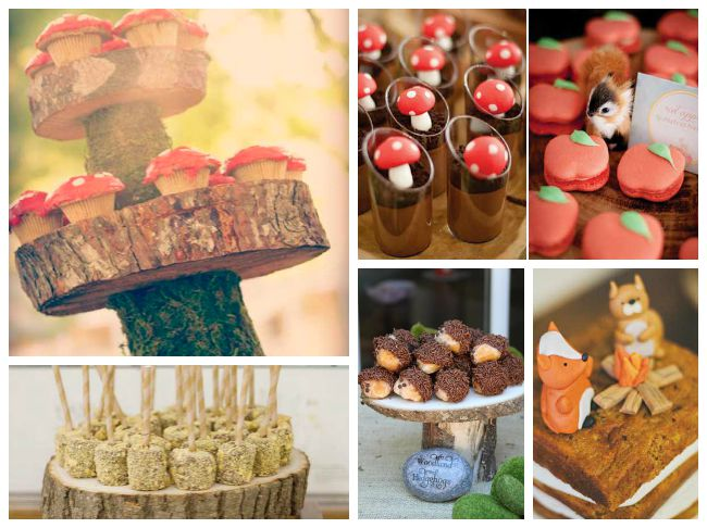 Enchanted Forest Woodland Treats and sweets ideas! - B. Lovely Events