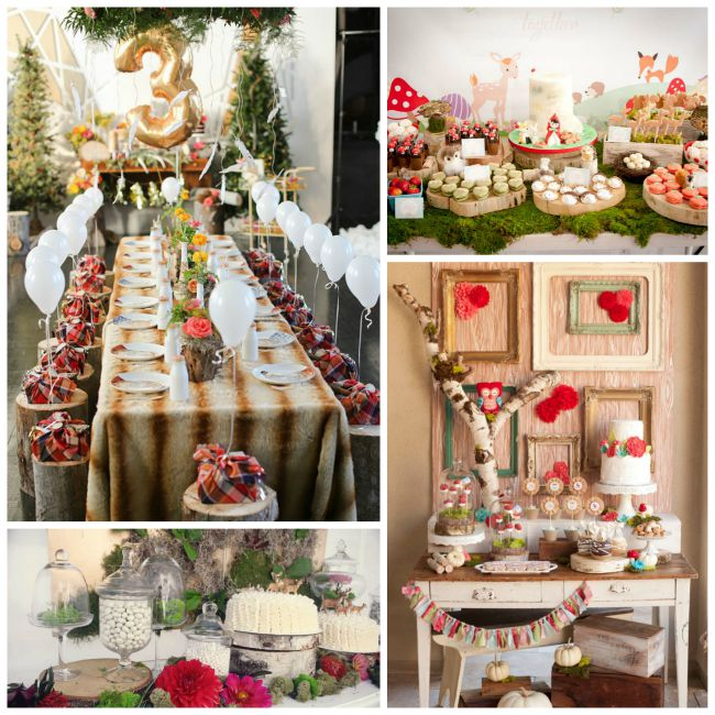 Lovely Ideas For A Woodland Party! - B. Lovely Events