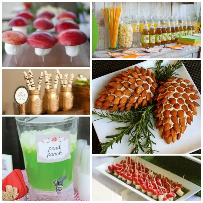 Woodland Party Food & Drink Ideas! - B. Lovely Events