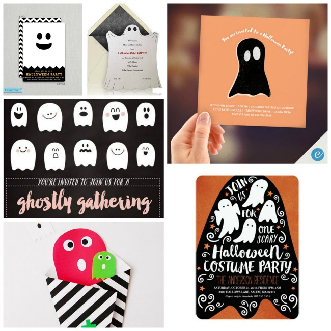 10 Boo-Ti-Ful Halloween Ghost Invitations! - B. Lovely Events