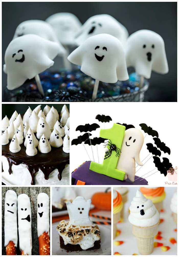 15 Fab Halloween Ghost Desserts! - B. Lovely Events