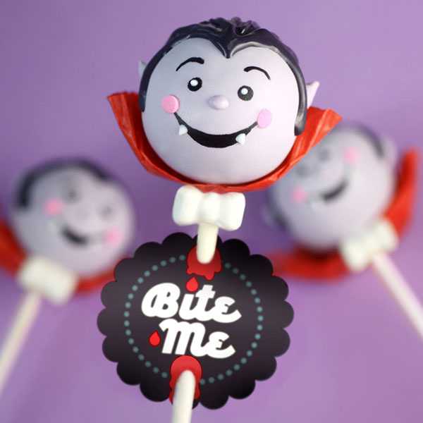 Darling Vampire Cake pops