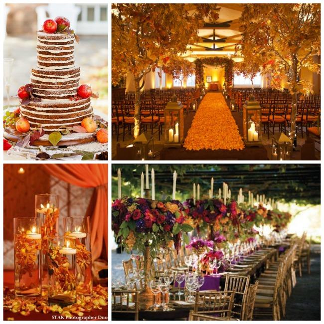 Beautiful Fall Wedding Ideas  B Lovely Events