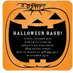 Spooktacular Halloween Pumpkin Invitations!