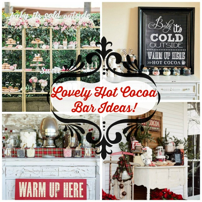 Lovely Hot Cocoa Bar Ideas!- B. Lovely Events
