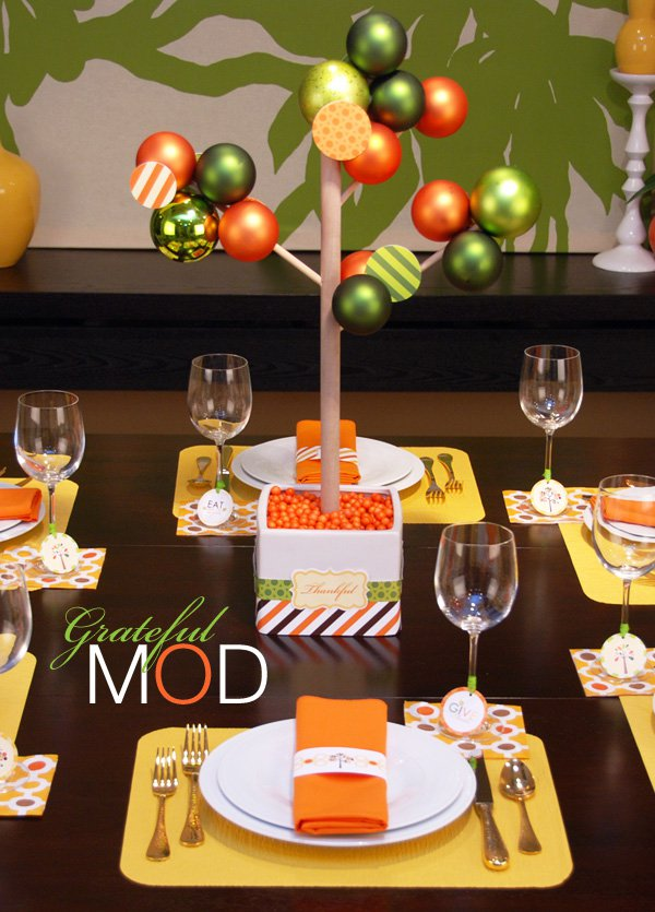 Modern Thanksgiving Free Printables