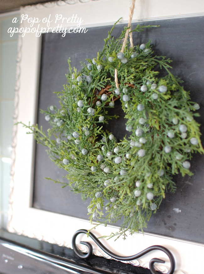 Love this Juper berry wreath