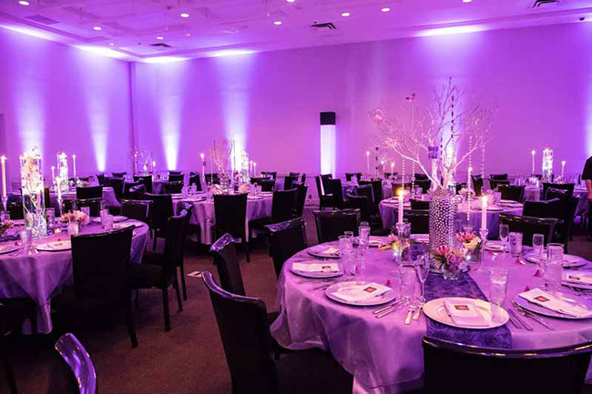 Love this Uplighting from DIYuplighting - Lovely Vendors- B. Lovely Events