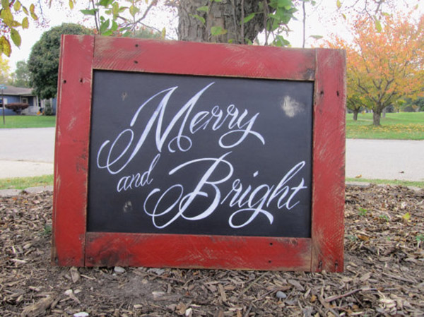 Merry & Bright Rustic Christmas Decor!