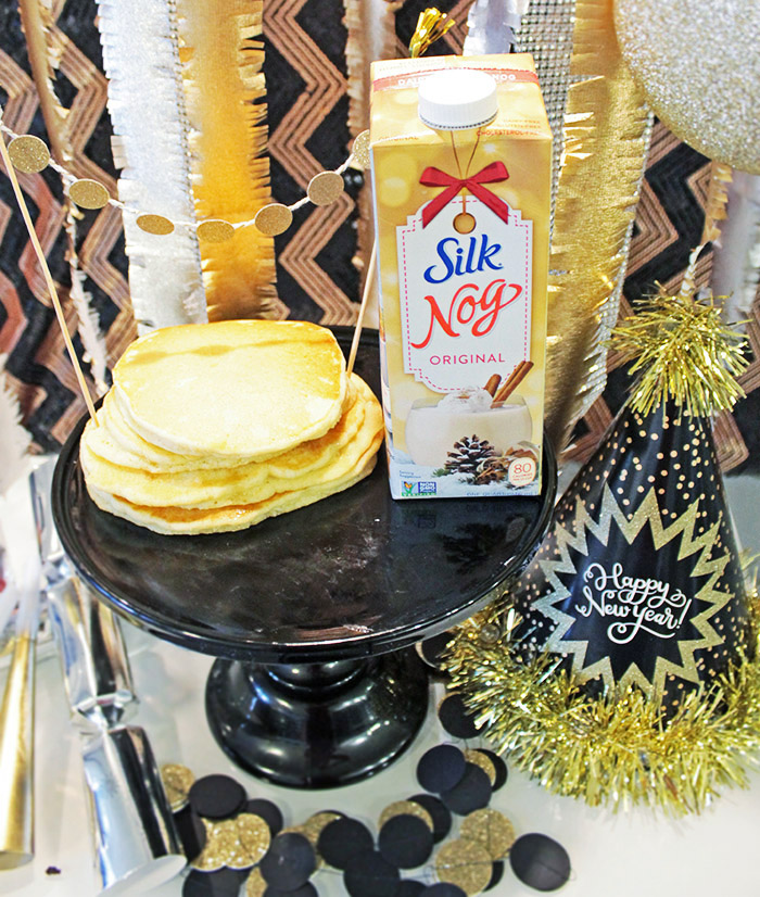 Silk Eggnog Pancakes Recipe - B. Lovely Events
