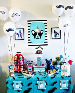 """Pupstachio"" Doggie Birthday Party!"