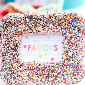 Sprinkle Party Decor