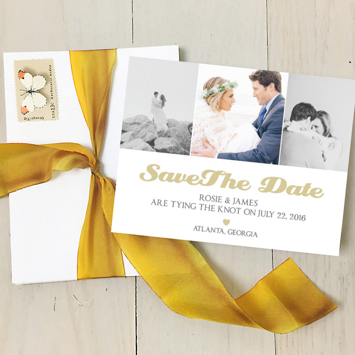 Custom Save The Date- Basic Invite
