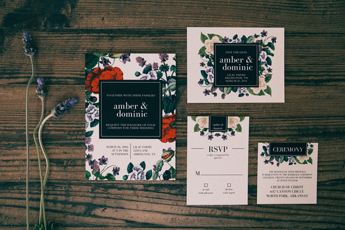 Garden Wedding Invitations -Basic Invite