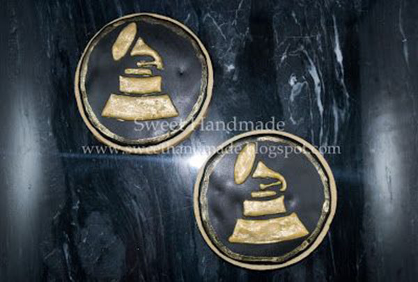 Grammy Award Cookies!