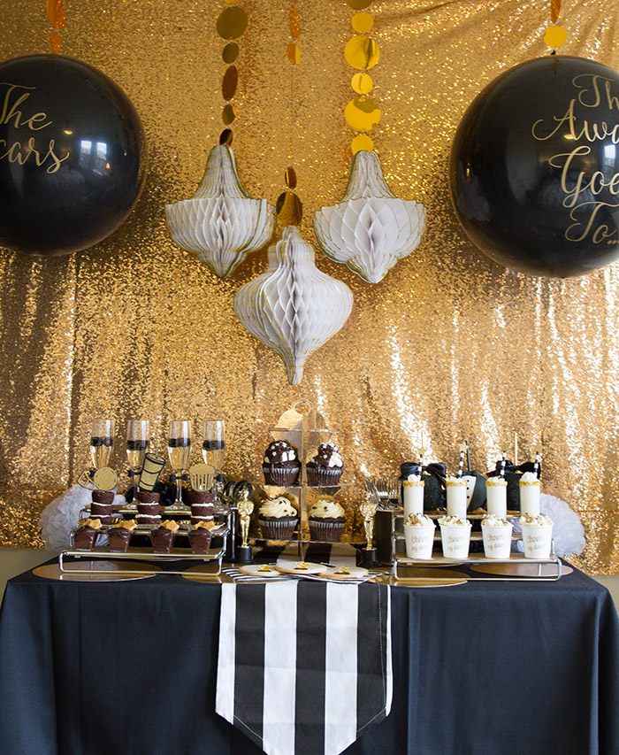 Lovely Tuxedo Oscar Viewing Party -See More Oscar Party Ideas On B. Lovely Events