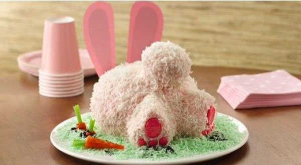 Lovely BUnny Butt Easter Cake! - See More Easter Bunny Butt Ideas On B Lovely Events