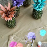 Colorful Decorated Pineapples!