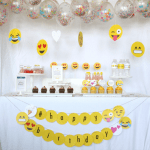 Fun Emoji Party! - See more amazing party trends for 2016 at B. Lovely Events!