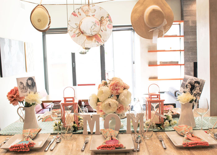 Lovely Blooming Mother's Day Table- See How To Put It Together On B. Lovely Events!
