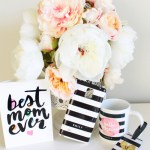 Lovely Modern Mothers Day Gifts With Zazzle