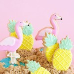 Pineapple Cookies That Are Adorable!