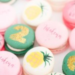 Pineapple Macaroons that are so cute