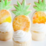 The cutest pineapple cookies!