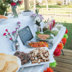 Fun taco bar set up! - See more lovely Taco Bars On B. Lovely Events
