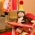 Go Wild! Monkey centerpiece for Baby Shower- Operation Shower- See All The Photos On B Lovely Events!