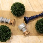 DIY Topiary Boxwood Modern Centerpieces (2) -Learn How To Make Them On B. Lovely Events
