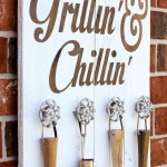 Fathers Day Grillin and Chillin DIY Sign-See more Grillin Father's Day Ideas On B. Lovely Events!