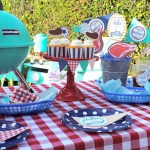 Fun Grillin Party For Father's Day! -See more Grillin Father's Day Ideas On B. Lovely Events!