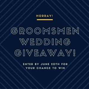 Wedding Giveaway With Groovy Groomsmen Gifts!