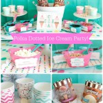 Polka Dotted Ice Cream Party- Get Inspired On B. Lovely Events!