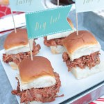 Fun Ways To Have Sliders on BBQ - B. Lovely Events