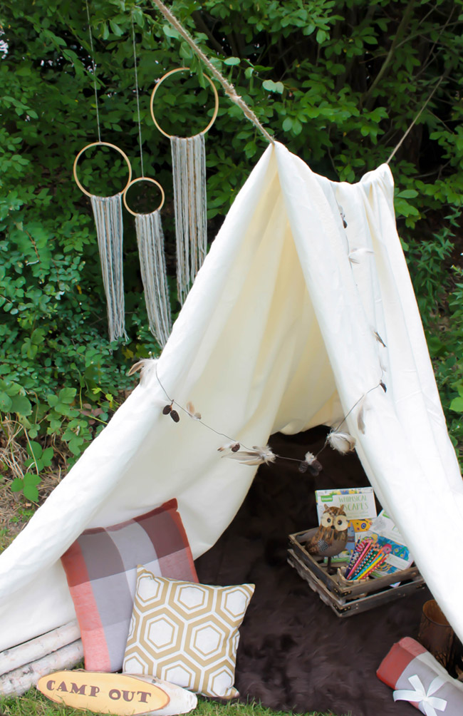 Mid Summer Night's Dream- Kid's Camp Out! - See More Lovely Kid's Camp Out Ideas on B. Lovely Events