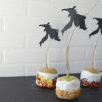 Halloween Silhouette Candy apples