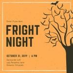 Silhouette Halloween Invitation
