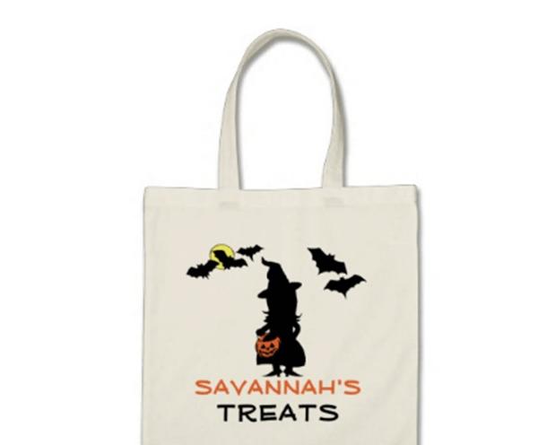 Silhouette Halloween Bags