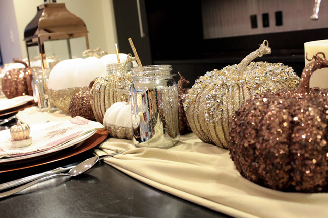 Fall tablescape decor- B. Lovely Events