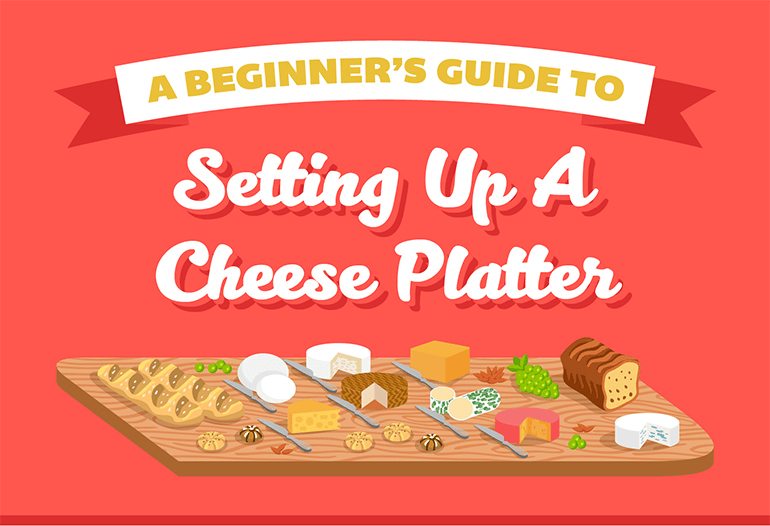 beginners tips for setting a cheese platter