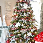 buffalo check plaid Christmas Tree- See More Buffalo Check Ideas on B. Lovely Events