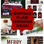 Buffalo plaid Christmas ideas- See More Buffalo Check Ideas on B. Lovely Events