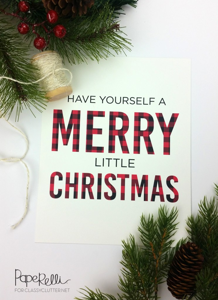 Love this little Christmas Sign free printable!
