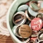 Wedding buttons